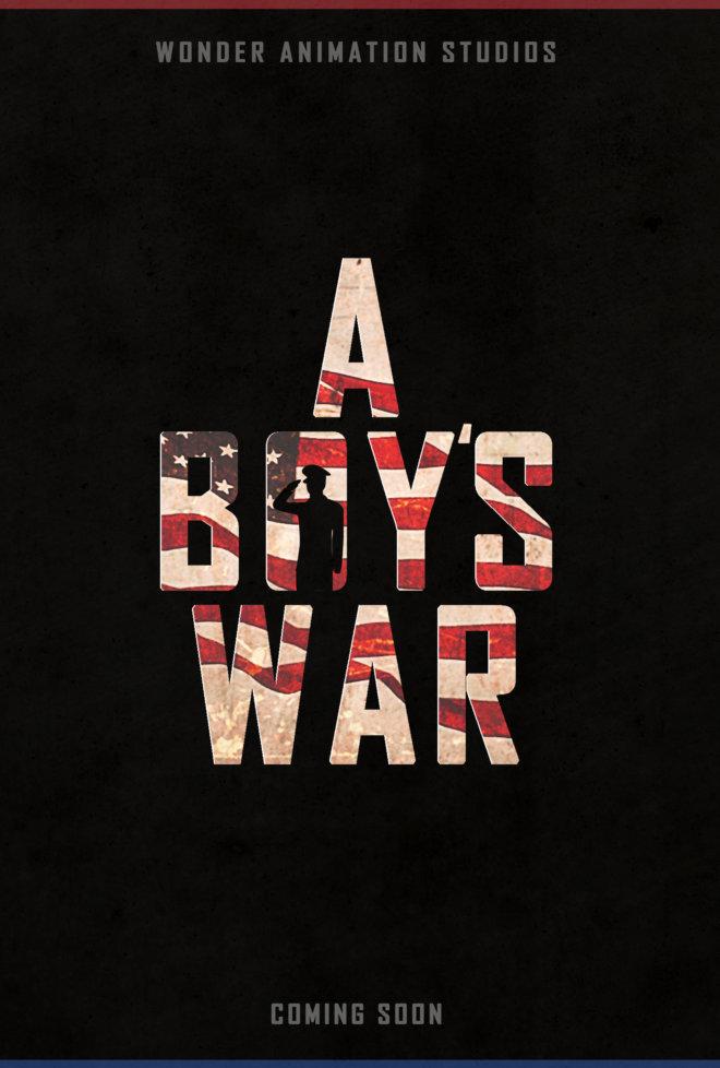A Boys War_Release Art_poster_B